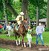Lookout Sister before The Small Wonder Stakes at Delaware Park on 9/12/15