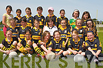 GIRLS FOOTBALL: The Dr. Crokes U10's girl's team who played at Na Gaeil GAA club on Saturday morning front l-r: Christine Cooper, Sarah Lyne, Sorcha DeBhilis, Orla Cagney, Mairead Joy and Aoife Murray. Centre l-r: Siobhan Burns, Leanne Clifton, Jessica Galvin, Alison Keogh, Aoife Farrell, Elena Galvin and Emma Lenihan. Back l-r: Crystal Doran, Leah Lyne, Roisin O'Doherty, Sadbh Ni Chathasaigh, Laura O'Sullivan, Rebecca O'Shea, Rionach DeBhilis and Michaela Ashe..DRUM CIRCLE: Beating to the rhythm at the first on eight Drum Circle being held around Kerry over the coming months the next to be held in the Old Boys School Dingle on the 6th of July front l-r: Martin Scharer, Urs Wehk and Joe Crowley. Back l-r: Rebecca Crowley, Caroline McGloin, John Buggy, Birgit Tol, Corrie Rogers and Ted Moyihan..   Copyright Kerry's Eye 2008