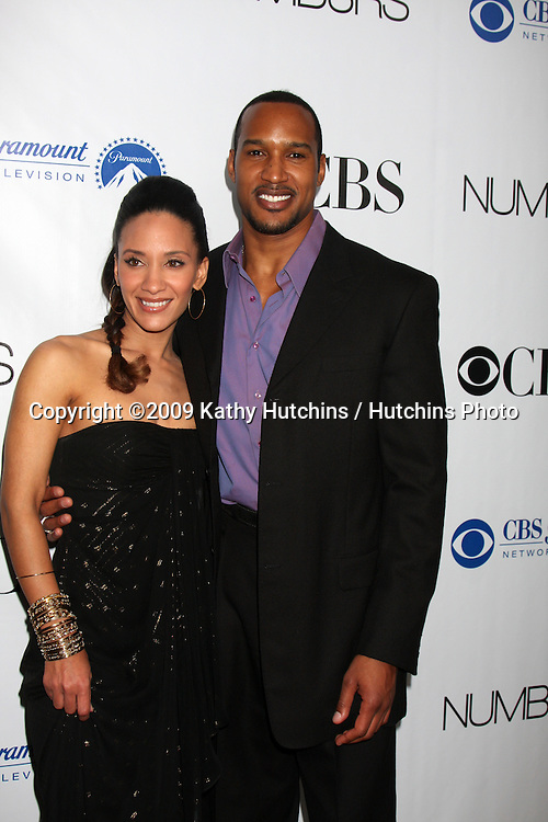 Sophina Brown & Henry Simmons arriving at the Numb3rs 100th Episode Party at the Sunset Tower Hotel in West Hollywood,  California on April 21, 2009.©2009 Kathy Hutchins / Hutchins Photo....                .