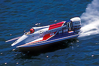 Cees van der Velden (#1) USFORA Formula One (F1) Tunnel Boats, Cincinnati, Ohio 1988
