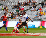Kalione Nasoko, Day 1 at Cape Town 7s for HSBC World Rugby Sevens Series 2018, Cape Town, South Africa - Photos Martin Seras Lima