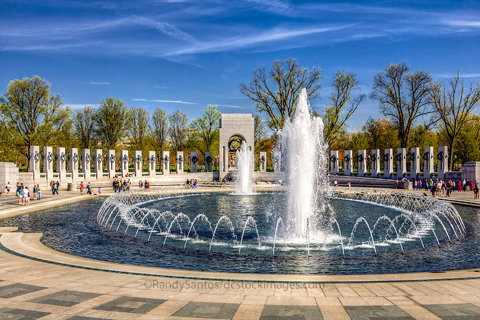 World War II Memorial Washington DC Architecture