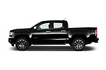 Car Driver side profile view of a 2017 GMC Canyon Denali-Crew 4 Door Pickup Side View