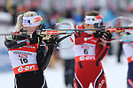 IBU Biathlon World Cup<br /> &copy; Pierre Teyssot<br />  Kaisa Makarainen (NOR SVK) in action during the IBU Biathlon World Cup in Hochfilzen, Austria.