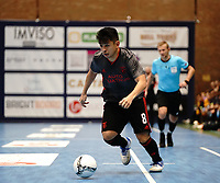 20191010 - HALLE: Benfica's Rafael Henmi is pictured during the UEFA Futsal Champions League Main Round match between Araz Naxcivan and SL Benfica on 10th October 2019 at De Bres Sportcomplex, Halle, Belgium. PHOTO SPORTPIX | SEVIL OKTEM