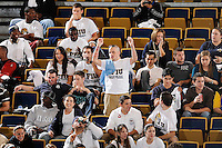 20 November 2008:  FIU fans cheer on the volleyball team during the FIU 3-1 victory over South Alabama in the first round of the Sun Belt Conference Championship tournament at FIU Stadium in Miami, Florida.