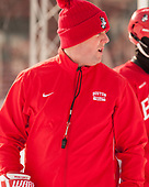 Albie O'Connell (BU - Associate Head Coach) - The Boston University Terriers practiced on the rink at Fenway Park on Friday, January 6, 2017.The Boston University Terriers practiced on the rink at Fenway Park on Friday, January 6, 2017.
