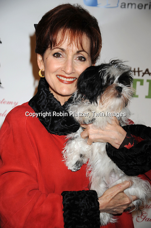 One Life to Live's  Robin Strasser and her dog Roc-qui..at The North Shore Animal League America's 2008 DogCatemy Celebrity Gala on November 6, 2008 at Capitale in New York City. ....Robin Platzer, Twin Images