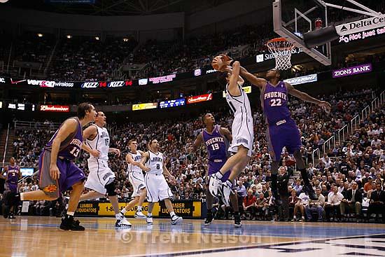 gordan giricek. Utah Jazz vs. Phoenix Suns<br />