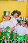 Laura Linnane,Katelyn Leen and Melanie Dineen who enjoyed themselfs in the Ballyheigue St Patrick's Day Parade on Monday.....   Copyright Kerry's Eye 2008