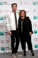 Michael Shannon and film director Jennifer Lebeau<br /> Roma 02/11/2017.  Auditorium parco della Musica. Festa del Cinema di Roma 2017.<br /> Rome November 2nd 2017. Rome Film Fest 2017<br /> Foto Samantha Zucchi Insidefoto