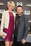 HOLLYWOOD, CA - JUNE 08: Jenna Elfman and Bodhi Elfman arrive at the 'Rock Of Ages' - Los Angeles Premiere at Grauman's Chinese Theatre on June 8, 2012 in Hollywood, California.