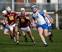 2nd February 2020; TEG Cusack Park, Mullingar, Westmeath, Ireland; Allianz Division 1 Hurling, Westmeath versus Waterford; Stephen Bennett brings the ball forward for Waterford