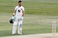 Heino Kuhn of Kent waits patiently at the crease during Essex CCC vs Kent CCC, Bob Willis Trophy Cricket at The Cloudfm County Ground on 1st August 2020
