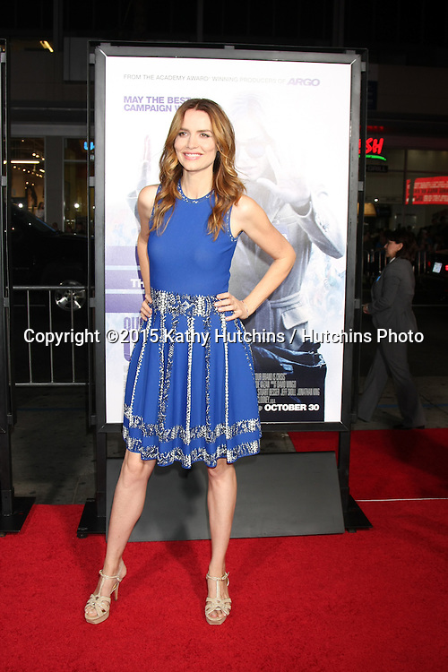 """LOS ANGELES - OCT 26:  Saffron Burrows at the """"Our Brand is Crisis"""" LA Premiere at the TCL Chinese Theater on October 26, 2015 in Los Angeles, CA"""