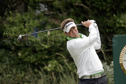 19 July 2008: American golfer John Overton (USA) during the third round of the Open Championship at Royal Birkdale Photo: Neil Tingle/Action Plus..080719