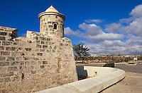 Castillo de San Salvador de la Punta in Habana, Cuba, Unesco-Weltkulturerbe