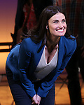 Idina Menzel during the Broadway Opening Night Performance curtain call for  'IF/THEN' at the Richard Rodgers Theatre on March 30, 2014 in New York City.