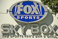 Los Angeles CA, LA LIVE, Fox Sports sign