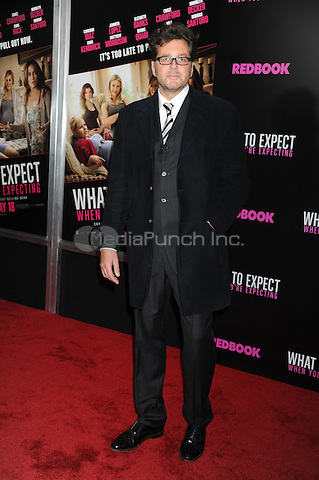 "Director Kirk Jones at the special screening of ""What to expect When You're Expecting"" at AMC Lincoln Square Theater in New York City. May 8, 2012.. Credit: Dennis Van Tine/MediaPunch"
