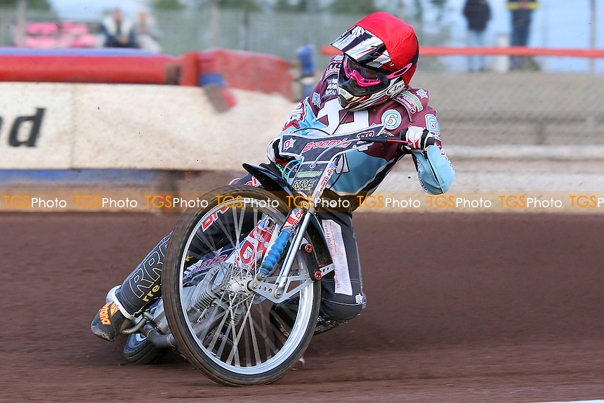 Heat 2: Rob Mear of Lakeside - Lakeside Hammers vs Birmingham Brummies - Elite League Knockout Cup at Arena Essex Raceway - 10/06/11 - MANDATORY CREDIT: Gavin Ellis/TGSPHOTO - Self billing applies where appropriate - Tel: 0845 094 6026