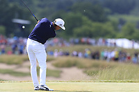 Rickie Fowler (USA) tees off the 7th tee during Friday's Round 2 of the 117th U.S. Open Championship 2017 held at Erin Hills, Erin, Wisconsin, USA. 16th June 2017.<br /> Picture: Eoin Clarke | Golffile<br /> <br /> <br /> All photos usage must carry mandatory copyright credit (&copy; Golffile | Eoin Clarke)