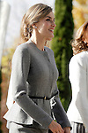 Queen Letizia of Spain visits the 'Severo Ochoa' Molecular Biology Centre at the Universidad Autonoma of Madrid. November 18, 2015. (ALTERPHOTOS/Acero)