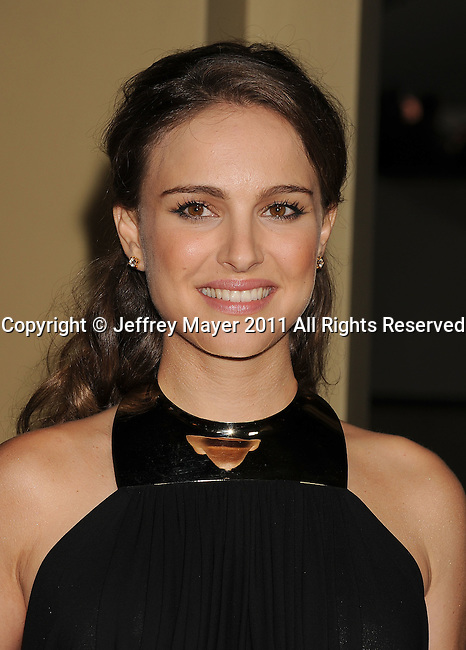 HOLLYWOOD, CA - January 29: Natalie Portman  arrives at the 63rd Annual DGA Awards held at the Grand Ballroom at Hollywood & Highland Center on January 29, 2011 in Hollywood, California.