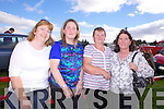 Ballyhahill friends Rosie O'Shaugnessy, Deirdre Kelly, Mary O'Brien and Eileen Collins pictured last Sunday at the annual Knockdown Vintage Rally.