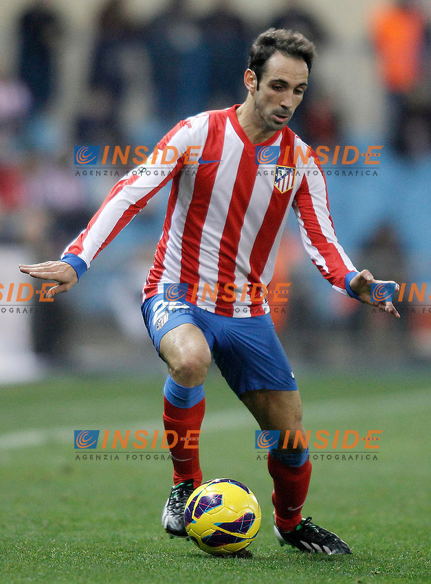 Atletico de Madrid's Juanfran Torres during La Liga match.November 25,2012. (ALTERPHOTOS/Acero) .Madrid 25/11/2012.Football Calcio 2012/2013 La Liga.Atletico Madrid Vs Siviglia.Foto Alterphotos / Insidefoto.Italy ONLY