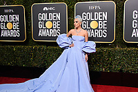 Golden Globe nominee Lady Gaga attends the 76th Annual Golden Globe Awards at the Beverly Hilton in Beverly Hills, CA on Sunday, January 6, 2019.<br /> *Editorial Use Only*<br /> CAP/PLF/HFPA<br /> Image supplied by Capital Pictures