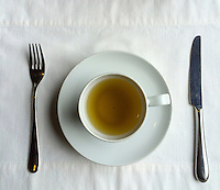 Peru.  Peruvian Cuisine.  Coca Tea, Said to Lessen the Symptoms of Altitude Sickness at Cusco's 11,000-foot Altitude.
