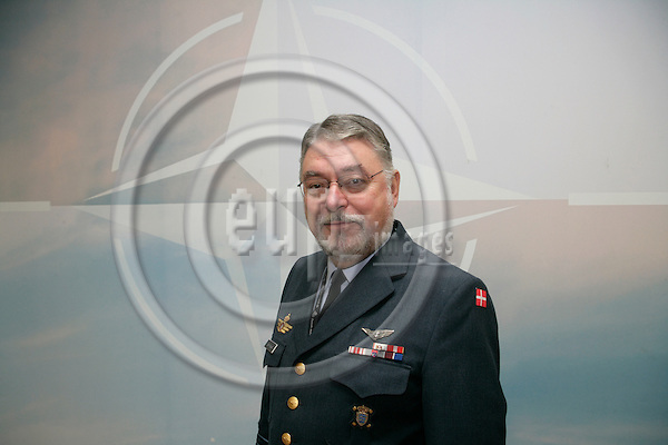 BRUSSELS - BELGIUM - 21 NOVEMBER 2006 -- Lieutenant General Kurt Ebbe ROSGAARD, The Danish Military Representative to NATO Military Committee and EU Military Committee.   PHOTO: ERIK LUNTANG / EUP-IMAGES
