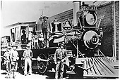 D&amp;RG locomotive #87 &quot;Rito Alto.&quot;  Baldwin Locomotive Works #5053/80 Sanford &amp; St. Petersburg #11 12/94, Flint River L&amp;L Co.<br /> D&amp;RG  Salida, CO  1890