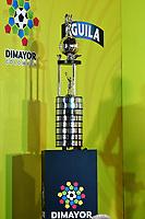BOGOTA - COLOMBIA - 24 - 01 - 2018: Trofeo que ganara el campeón de la Liga Aguila I 2018. / Trophy that will win the champion of the Aguila League I 2018. Photo: VizzorImage / Luis Ramirez / Staff.