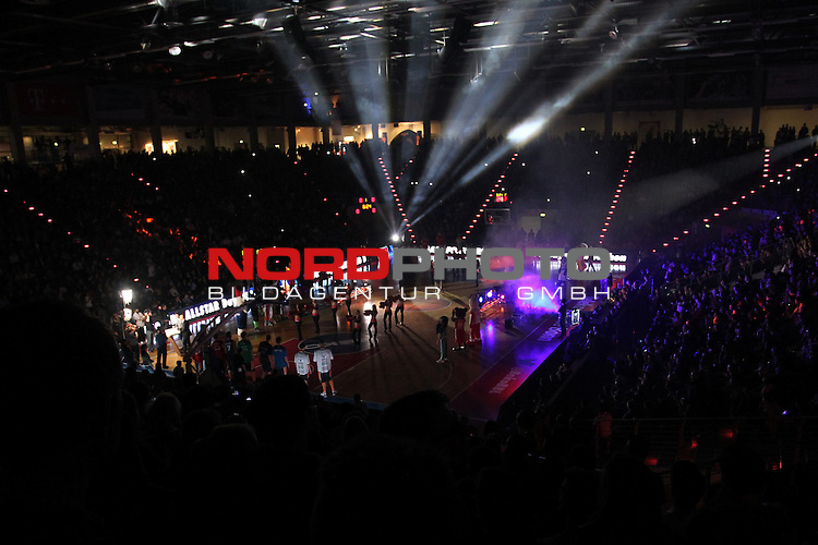 18.01.2014, Telekom Baskets Dome, Bonn, GER, BBL, Allstar Day 2014 Team National vs. Team International, im Bild<br /> &Uuml;bersichtsaufnahme<br /> <br /> Foto &copy; nordphoto / Mueller