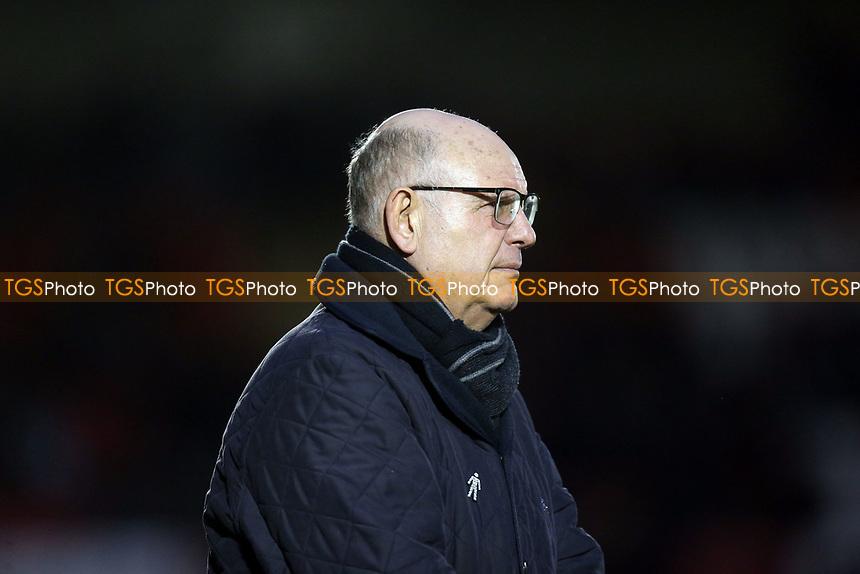Dagenham manager John Still during Dagenham & Redbridge vs Solihull Moors, Vanarama National League Football at the Chigwell Construction Stadium on 27th January 2018