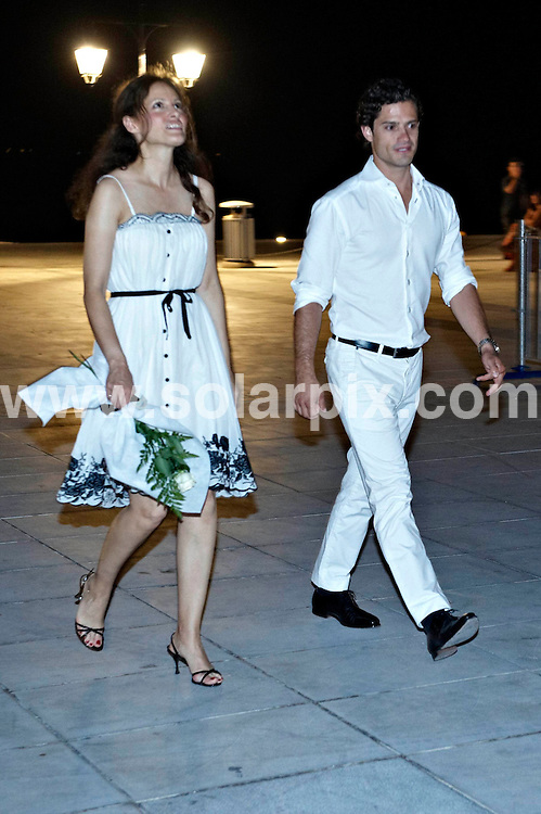 **ALL ROUND PICTURES FROM SOLARPIX.COM**.**SYNDICATION RIGHTS FOR UK AND SPAIN ONLY**.Wedding of Prince Nikolaos and Miss Tatiana Blatnik at the Saint Nikolaos church in Spetses, Greece. 25 August 2010..This pic: Prince Carl Philip..JOB REF: 11994 CPR Kongsted  DATE: 25_08_2010.**MUST CREDIT SOLARPIX.COM OR DOUBLE FEE WILL BE CHARGED**.**MUST NOTIFY SOLARPIX OF ONLINE USAGE**.**CALL US ON: +34 952 811 768 or LOW RATE FROM UK 0844 617 7637**
