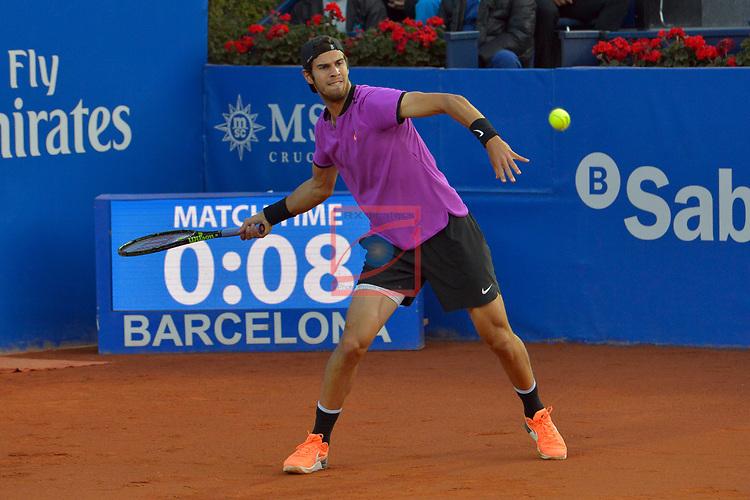 65e Trofeu Conde de Godo.<br /> Barcelona Open Banc Sabadell.<br /> Karen Khachanov (RUS) vs Horacio Zeballos (ARG): 4-6, 1-6.