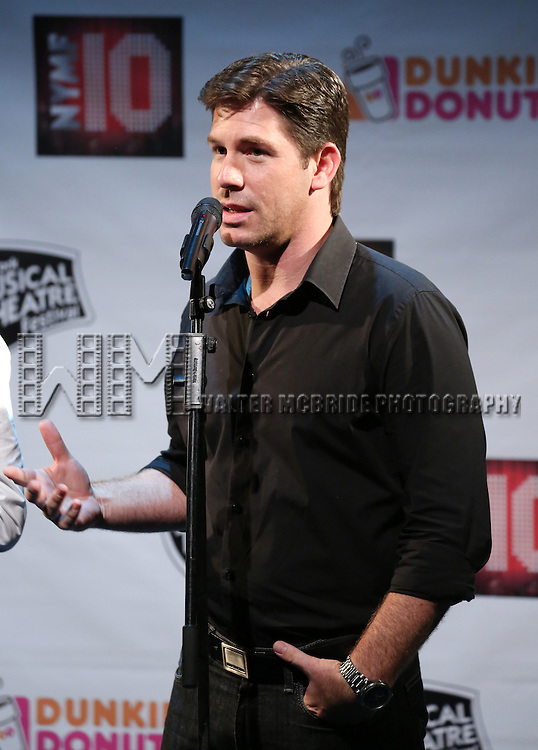Richard Blake Performing at The New York Musical Theatre Festival - Special Preview at The Studio Theatre on July 2, 2013 in New York City.