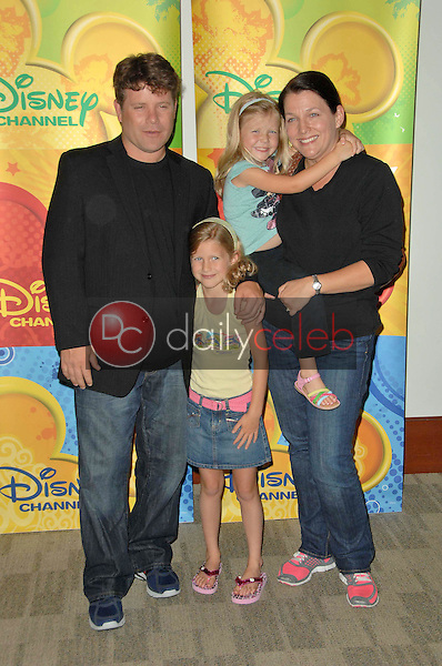 Sean Astin and family<br />