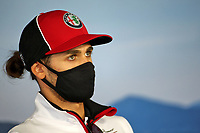 16th July 2020, Hungaroring, Budapest, Hungary; F1 Grand Prix of Hungary, drivers arrival and track inspection day;  99 Antonio Giovinazzi ITA, Alfa Romeo Racing ORLEN, *** Local Caption *** Photo: xxx/FIA Pool via HOCH ZWEI Budapest Hungary Poolfoto HOCH ZWEI/Pool/XPB Images ,EDITORIAL USE ONLY