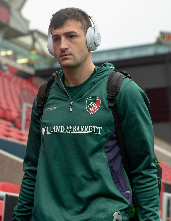 Leicester Tigers' Jonny May<br /> <br /> Photographer Bob Bradford/CameraSport<br /> <br /> Gallagher Premiership - Bristol Bears v Leicester Tigers - Saturday 1st December 2018 - Ashton Gate - Bristol<br /> <br /> World Copyright © 2018 CameraSport. All rights reserved. 43 Linden Ave. Countesthorpe. Leicester. England. LE8 5PG - Tel: +44 (0) 116 277 4147 - admin@camerasport.com - www.camerasport.com