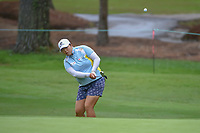 Shanshan Feng (CHN) chips on to 10 during round 1 of the U.S. Women's Open Championship, Shoal Creek Country Club, at Birmingham, Alabama, USA. 5/31/2018.<br /> Picture: Golffile | Ken Murray<br /> <br /> All photo usage must carry mandatory copyright credit (&copy; Golffile | Ken Murray)