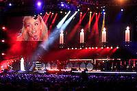 Welcome To Wales Concert at the Millenium Stadium Cardiff for the The 2010 Ryder Cup at the Celtic Manor, Newport, Wales, 29th September 2010..Catherine Jenkins on stage.(Picture Manus O'Reilly/www.golffile.ie)