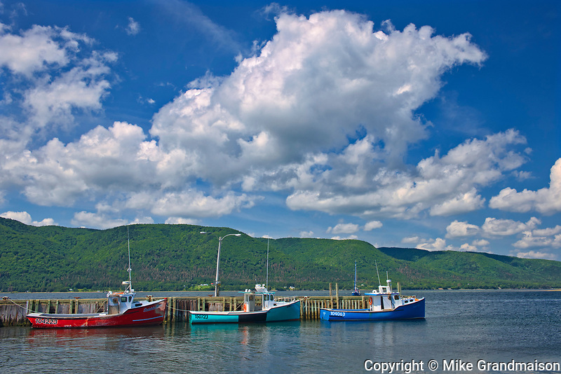 Fishing boats. <br />