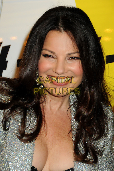 "FRAN DRESCHER .""The Million Dollar Revival"" Benefit for Fran Drescher's Cancer Schmancer Charity Movement held at the Million Dollar Theatre, Los Angeles, California, USA..December 13th, 2009.headshot portrait cleavage black silver jewel encrusted embellished sparkly cleavage .CAP/ADM/BP.©Byron Purvis/AdMedia/Capital Pictures."