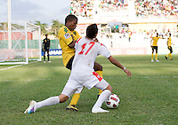 Patrick Palmer, Bryan Santamaria. Panama defeated Jamaica, 1-0, during the third place game of the CONCACAF Men's Under 17 Championship at Catherine Hall Stadium in Montego Bay, Jamaica.