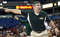Palo Alto High School  head basketball coach Peter Diepenbrock during Friday, March 17, 2006, in Sacramento. ( Photo by Norbert von der Groeben/  )