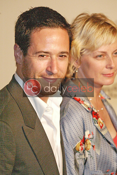 Rob Morrow and wife Debonair<br /> at the 5th Annual Project A.L.S. Benefit Gala Honoring Ben Stiller, Westin Century Plaza Hotel, Century City, CA 05-06-05<br /> Jason Kirk/DailyCeleb.com 818-249-4998